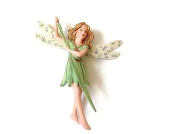 Fairy figurines, Willow Fairy figurine, fairy garden miniature, fairy garden, miniature garden, fairy accessory, fairies, Cecily Mary Barker