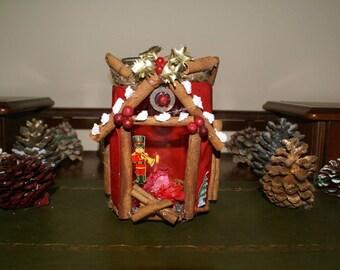 Cinnamon Candle Jar