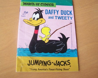 RARE Vintage Comic Book - March of Comics - Daffy Duck and Tweety - #303 - 1967