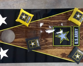 US Army Cornhole boards