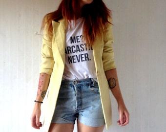 Vintage yellow jacket 40 size