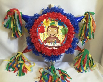 Curious George Pinata Fast Shipping