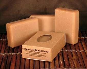 Oatmeal, Milk and Honey Handcrafted Soap