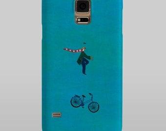 Samsung Galaxy bicicleta (Ilustrador Ximo Abadía) Samsung Galaxy S6, S5, S4, S3, S2