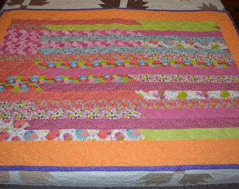Springtime Jelly Roll Quilt