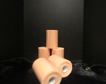 "close out PEACH TULLE ROLL 6"" X 100 Yards"