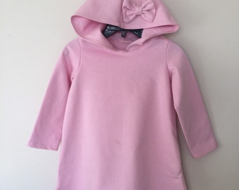 Organic Hooded Sweatshirt Dress SALE