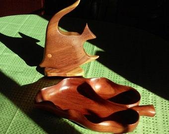 Hawaiian Native Hardwood Serving Set