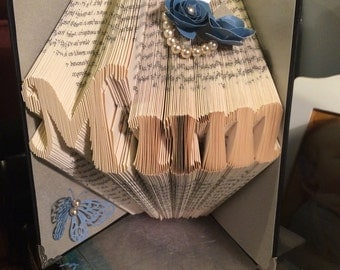 Mum book folded gift