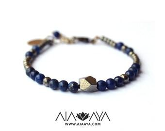 AYA Bracelet - lapis lazuli