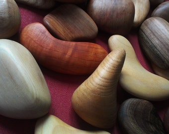 Wooden Pebbles (Big set)