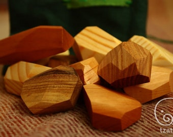 Tumi-Ishi Wooden Blocks