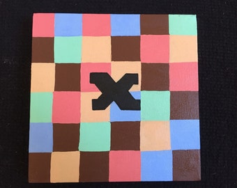 Initial Painting #X2