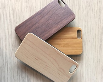 Real Wood iPhone 6 / 6s case | iPhone 6 Cover | iPhone 6S Case | Real Wood Case | Laser Engraved | Laser Etc