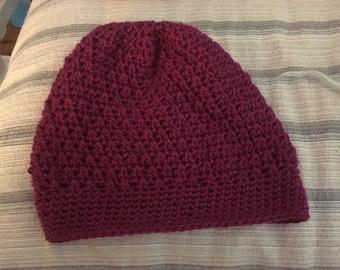 Crochet Slouch Beanie!