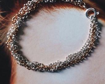 "Bracelet ""Modern Braid"""