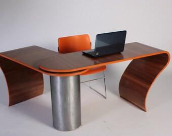 Bespoke space saving desk 'Shifting Sands'