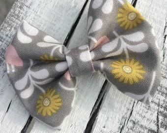 Floral in Grey