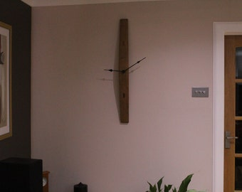 Whisky Barrel Stave Clock
