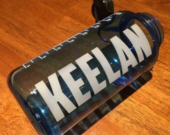 Customizable etched 32oz Nalgene Water Bottle (free shipping)