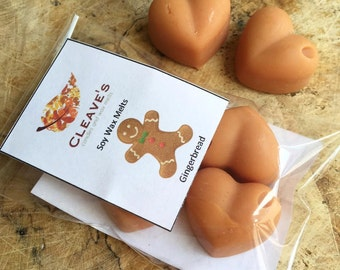 Gingerbread Scented Soy Wax Melts