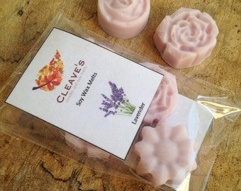 Lavender Scented Soy Wax Melts