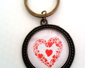 Heart of hearts - LLSV2 KEYCHAIN