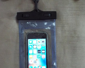 iPhone 5, 6, 6s, 6s Plus Water Proof Clear Case