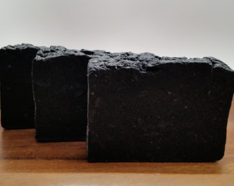 All Natural Handmade Activated Charcoal Soap
