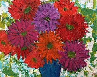 "H. Wilson Werner Fine Art Original Painting ""Fanfare"""
