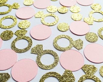 Diamond Ring Confetti • Bridal Shower Confetti • Bachelorette Decor • Engagement Confetti • Wedding Decor