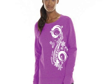 Women's Snowmobile Long Sleeve with Thumbhole