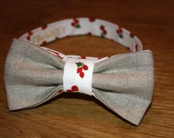 Bow tie man Lin & cherry