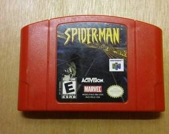 Spiderman Nintendo64 N64 Game