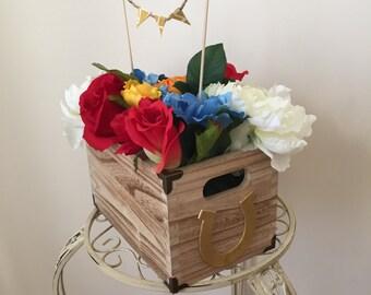 Derby Floral Centerpiece