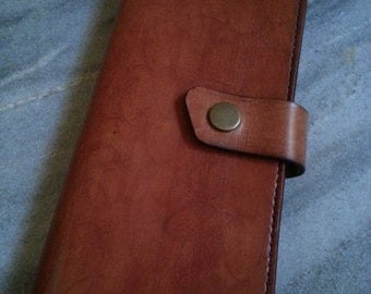 Leather big wallet