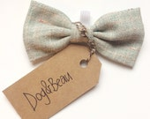 tweed dog bow tie, tweed bow tie, doggy bow tie, gifts for dogs, gifts for pets
