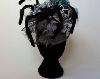 Macabre Heartthrob - one off headpiece
