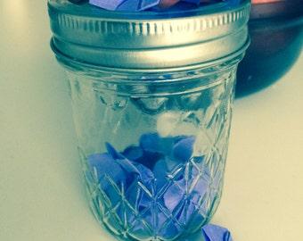 Little jar o' flowers