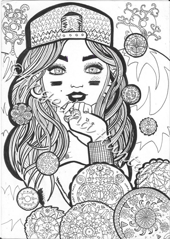 free girly coloring pages - photo#45