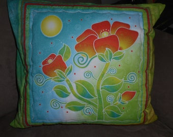 Moonflower Quilted Pillow (2)