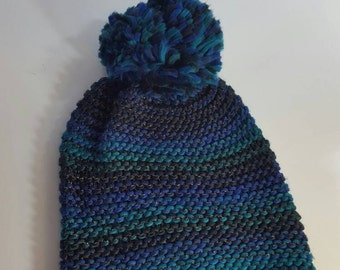 Hand-made winter hat