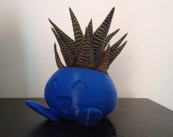 Oddish Planter , Pokemon Planter , Pokemon , Bulbasaur, Ivysaur, 3D printed, Cute, Best Christmas Gift, Monster, Geekery, Stocking Stuffer