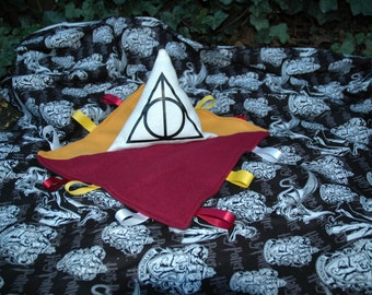Harry Potter Taggie/ribbon blanket/snuggle toy