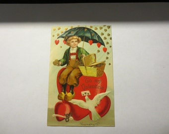 1910 Valentines Day Postcard