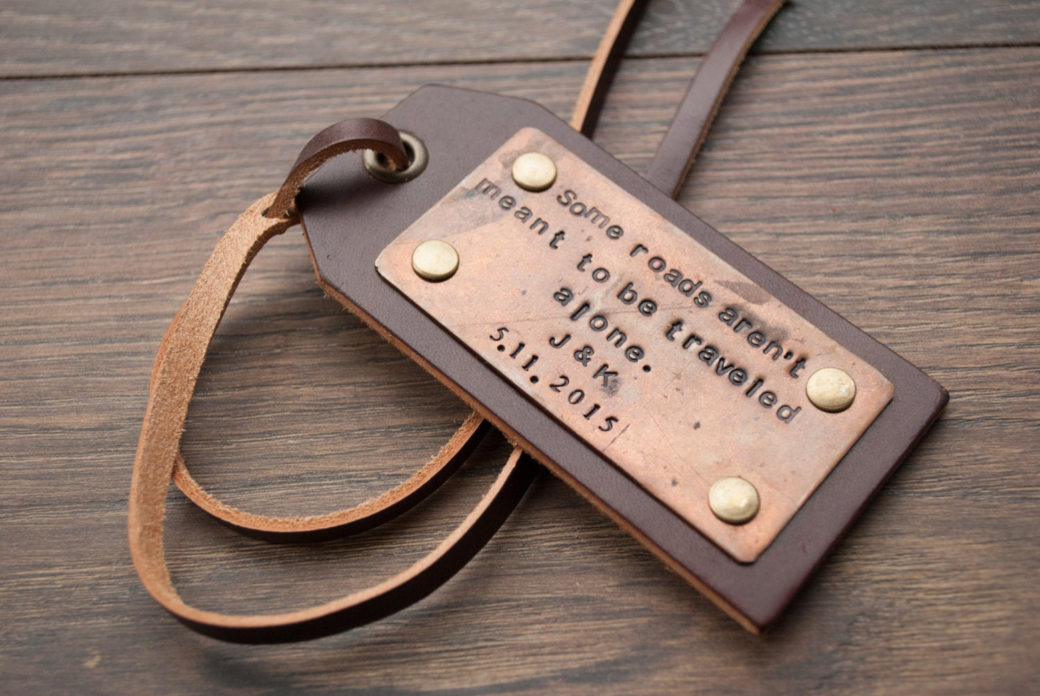 Personalized Leather Luggage Tags Custom Leather Tags By