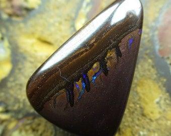 Australian boulder opal - matrix opal AAA-solid 100% natural opal