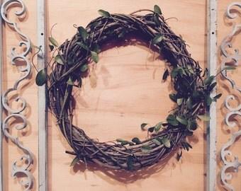 """Plain 21"""" - Vine Wreath"""