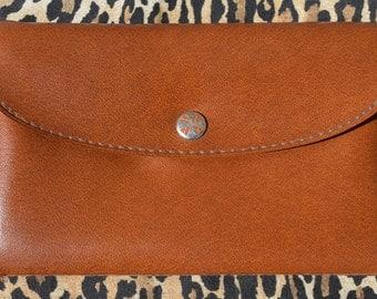 Vintage Faux Leather Wallet