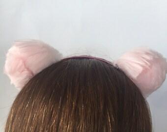 Pink Bear Ears